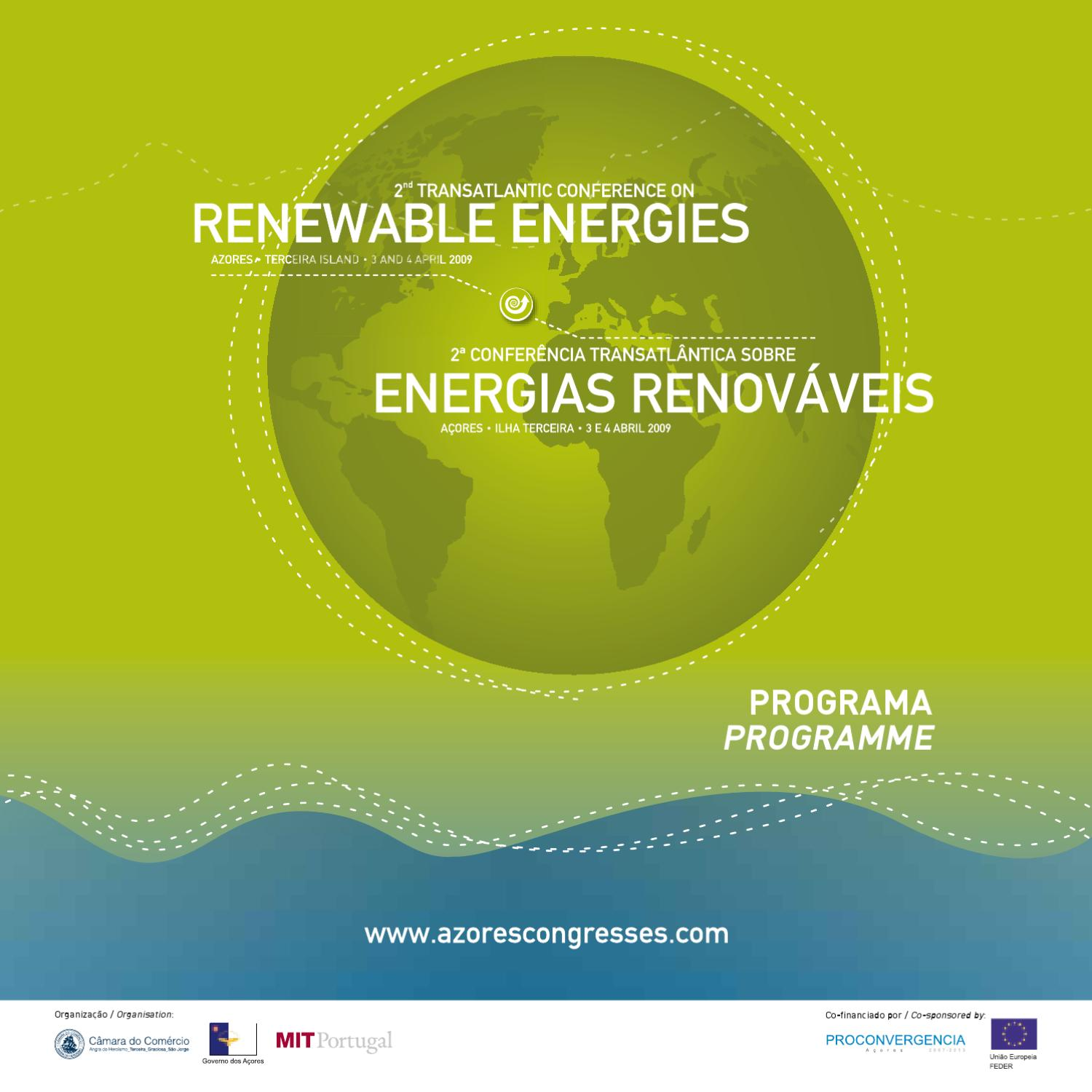 Renewable Energy Events promoted by Paulo Casaca